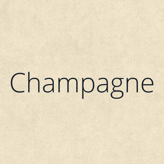 Couleur Champagne