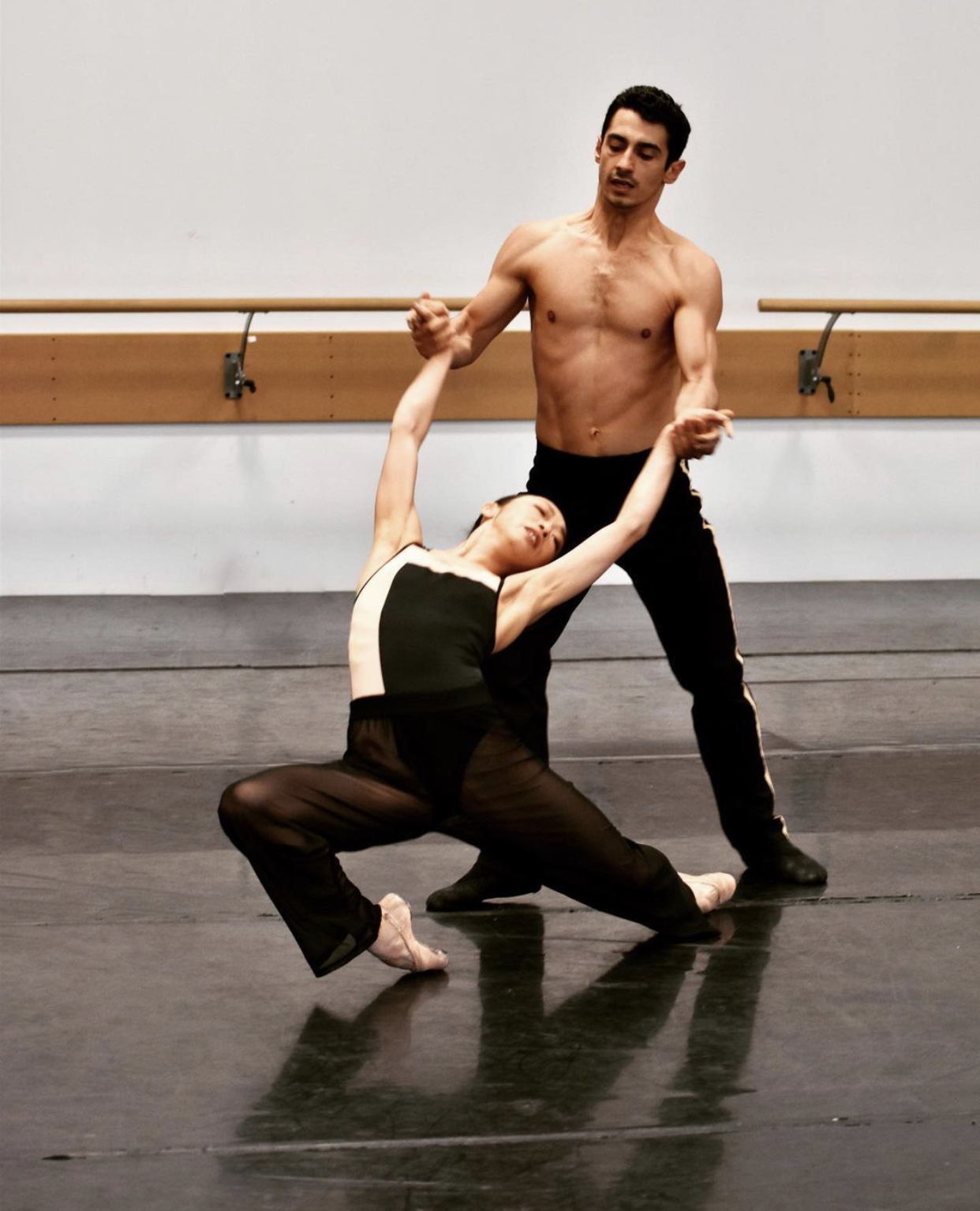 Couple de danseurs ballet Three W.O.A.L